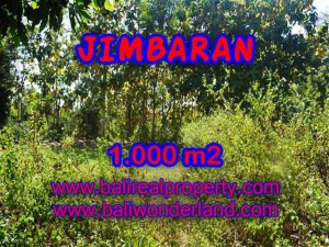 FOR SALE Magnificent 1,000 m2 LAND IN Jimbaran Ungasan BALI TJJI071