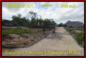 Exotic PROPERTY 500 m2 LAND IN JIMBARAN FOR SALE TJJI085