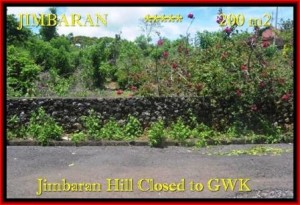 FOR SALE Beautiful PROPERTY 200 m2 LAND IN JIMBARAN TJJI086