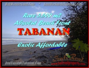 Magnificent PROPERTY 3.500 m2 LAND FOR SALE IN Tabanan Selemadeg TJTB156