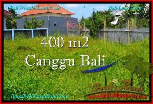 Beautiful PROPERTY 400 m2 LAND FOR SALE IN CANGGU BALI TJCG189