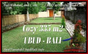 Exotic 335 m2 LAND IN UBUD BALI FOR SALE TJUB537