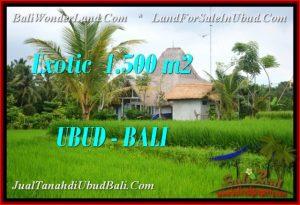 Affordable PROPERTY 1,500 m2 LAND SALE IN Ubud Pejeng TJUB541