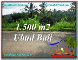 Beautiful LAND FOR SALE IN UBUD TJUB556