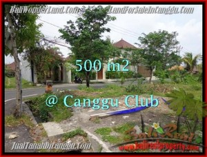 Exotic CANGGU 500 m2 LAND FOR SALE TJCG176
