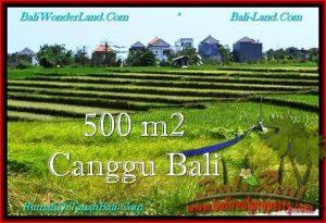 Affordable CANGGU 500 m2 LAND FOR SALE TJCG192