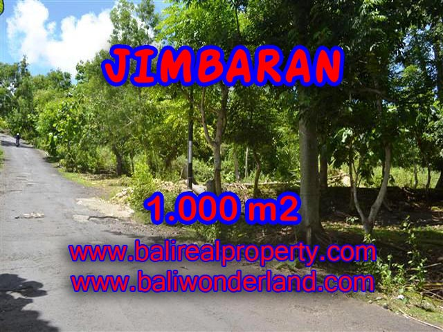 Exotic Land for sale in Jimbaran Bali, Great View to the ocean and airport in Jimbaran Ungasan– TJJI070