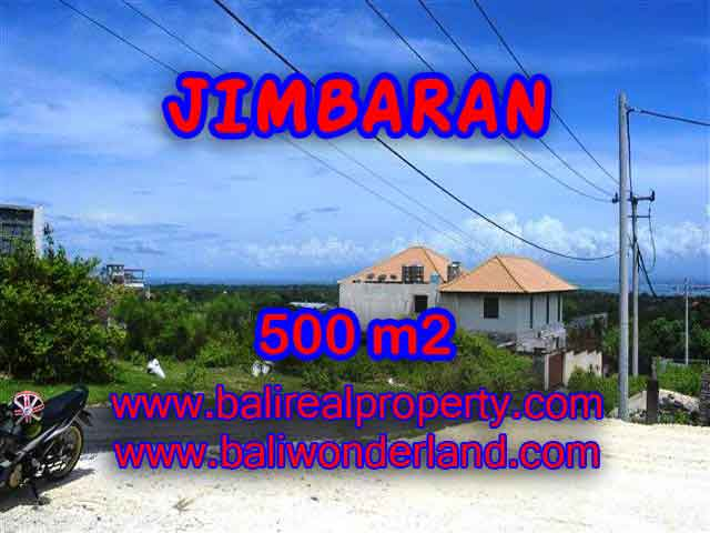 Exceptional Property in Bali, Land in Jimbaran Bali for sale – 500 m2 @ $ 645