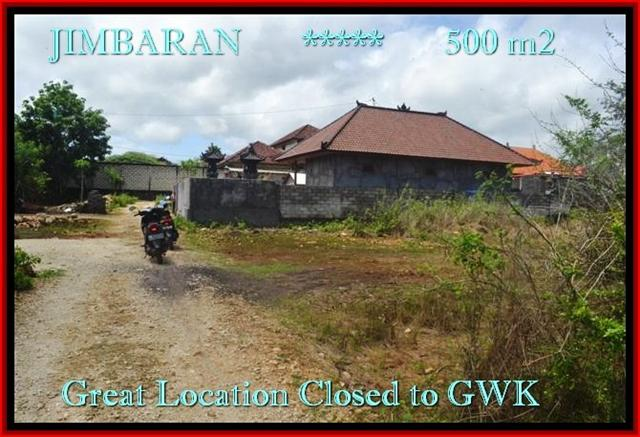 Beautiful 500 m2 LAND SALE IN Jimbaran Ungasan BALI TJJI084