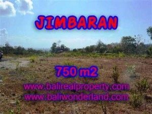 Jimbaran Uluwatu BALI 750 m2 LAND FOR SALE TJJI079