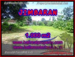 Magnificent PROPERTY 1,000 m2 LAND SALE IN JIMBARAN TJJI063