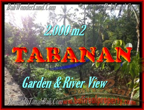 Land for sale in Bali, Fantastic view in Tabanan Penebel – TJTB149