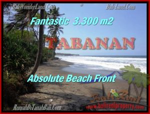 FOR SALE Magnificent 2,345 m2 LAND IN TABANAN BALI TJTB158