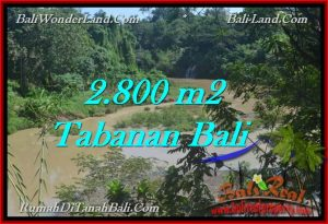 Beautiful TABANAN BALI 2,800 m2 LAND FOR SALE TJTB276