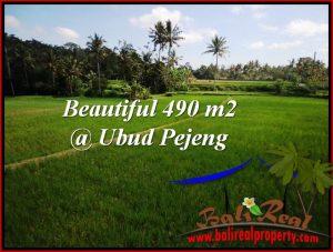 Beautiful 490 m2 LAND FOR SALE IN Ubud Tampak Siring TJUB512