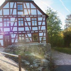 Fachwerkhaus Pension Landhaus Hessisches Fachwerk Denkmalschutz