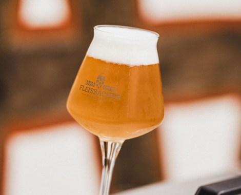 Fleisbacher Bier vom Fass Bierempfang Biertheke