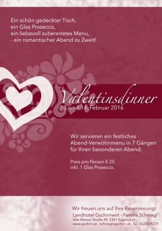 Valentinsdinner2016