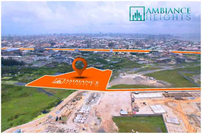 WHERE IS AMBIANCE HEIGHTS IN LEKKI