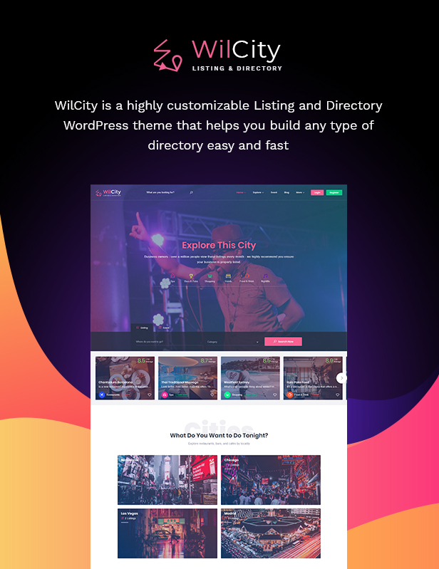 Wilcity - Listing Directory WordPress Theme