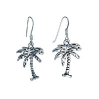 Sterling Silver Palm Tree Earrings