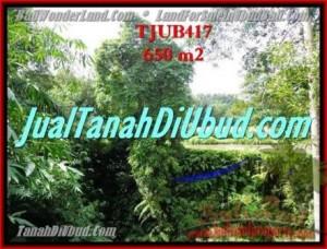 FOR SALE Beautiful PROPERTY LAND IN UBUD TJUB417