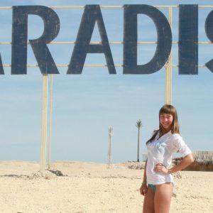 Ausflug nach Paradise Beach in Hurghada