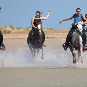 Randonnée équestre à Hurghada