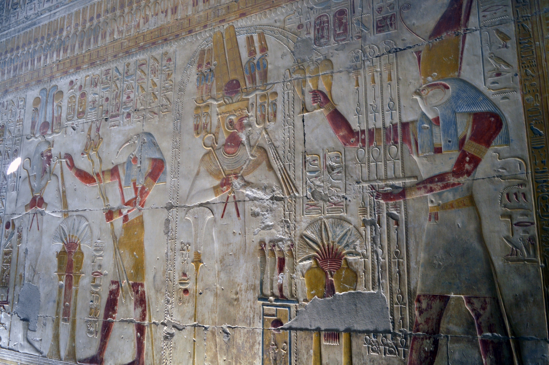 The ancient Egyptian deities