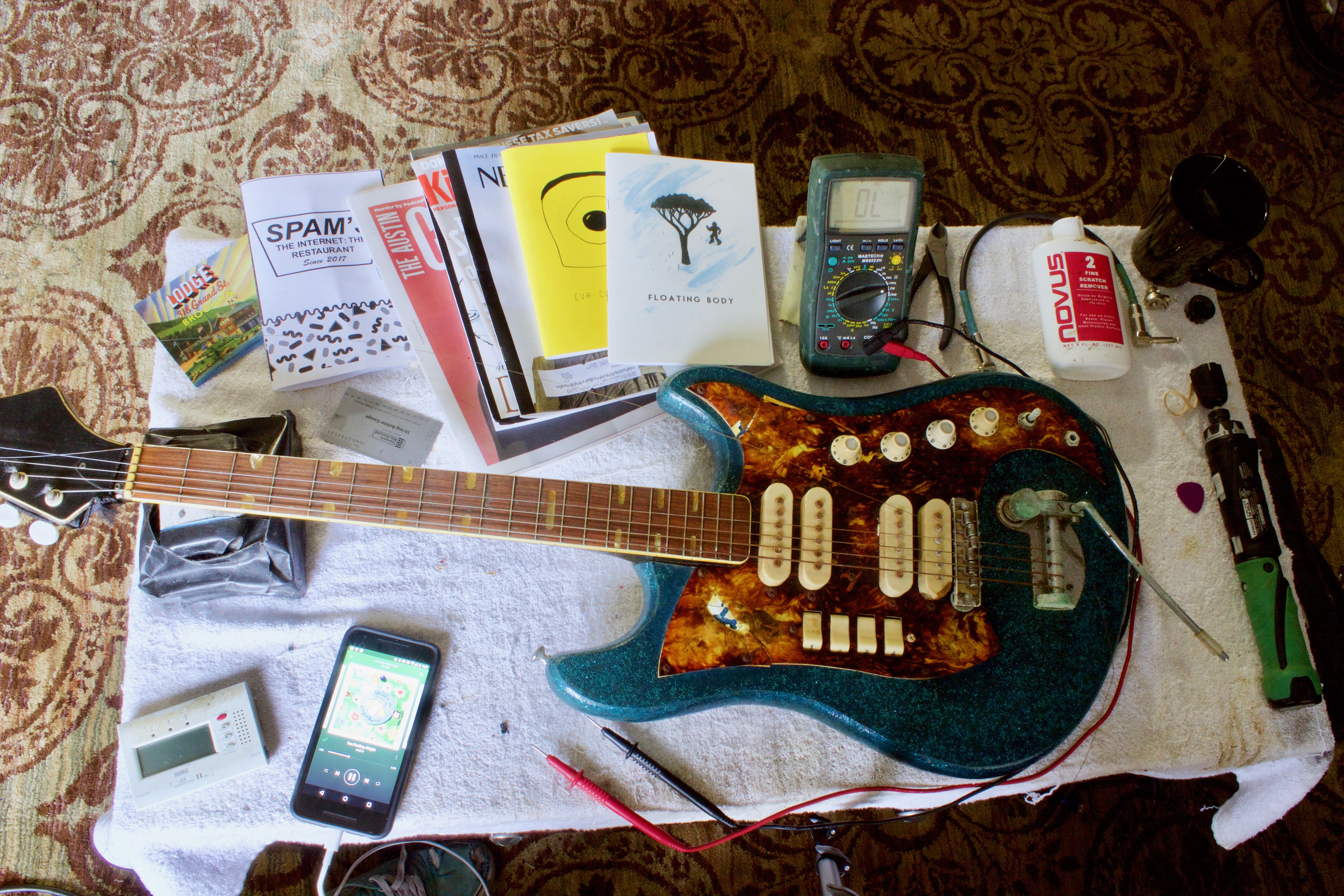 How To Use A Multimeter Check Grounds Guitar Pickup Wiring Noise