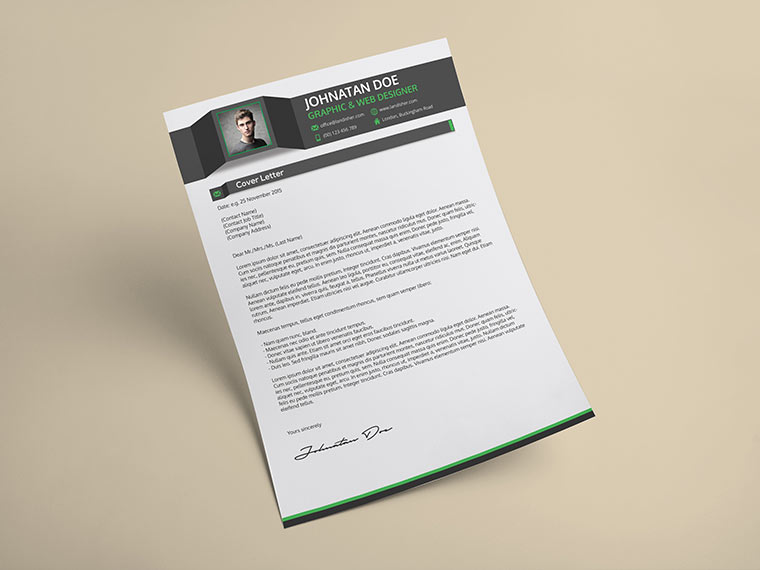 Portfolio Cover Page For Job Interview - Cover Letter Templates