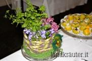 Blumendekoration im Filztopf von Barbara (Pschoalhof)