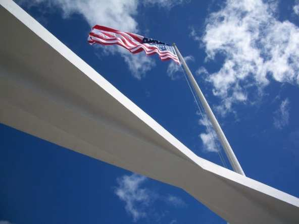 Inside the U.S.S. Arizona Memorial