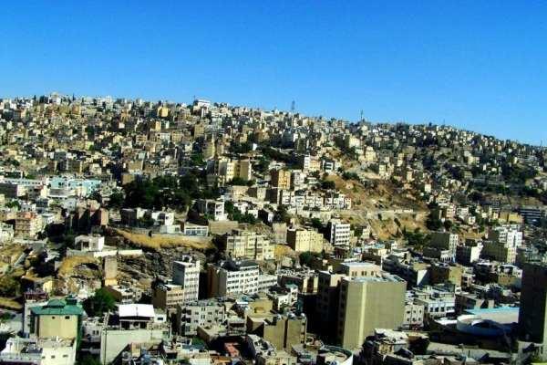 Amman, Jordan skyline