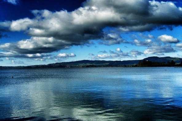 Lake Rotorua, New Zealand