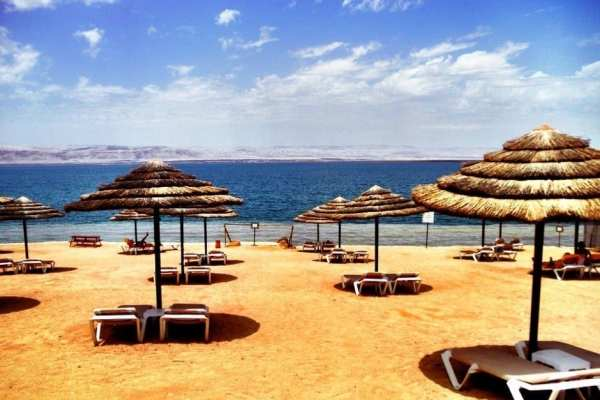 Dead Sea Jordan resort