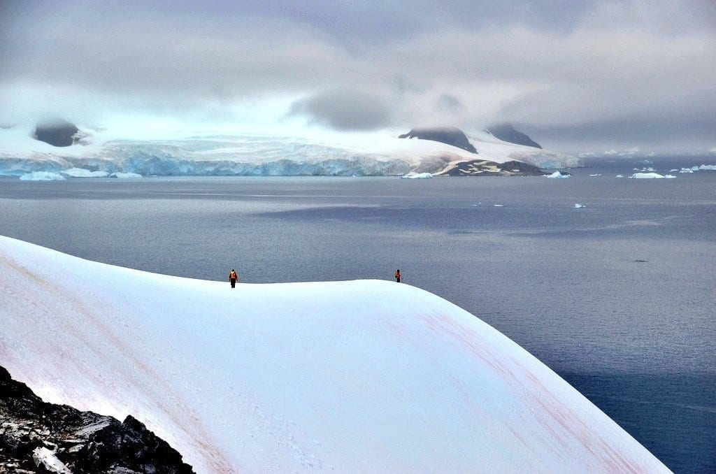 hike Antarctica