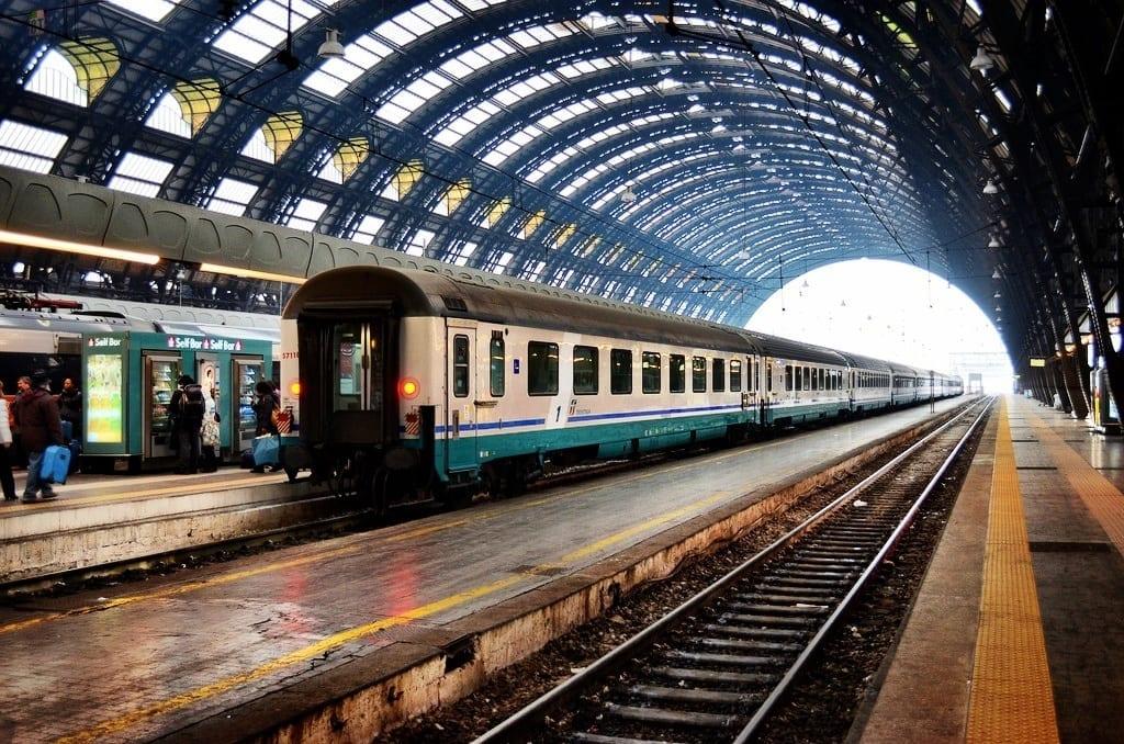 train italy
