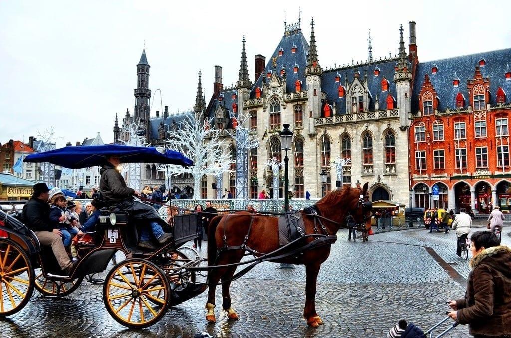Bruges Belgium Christmas