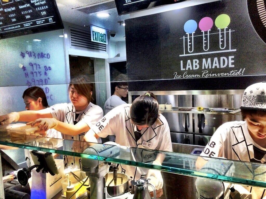 Lab Made Ice Cream Hong Kong