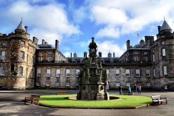 Holyrood Palace Edinburgh Scotland