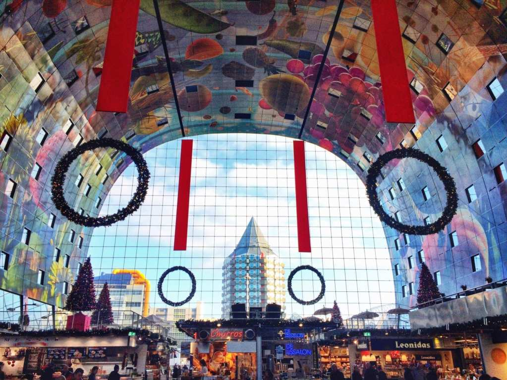 Rotterdam Netherlands Markthal