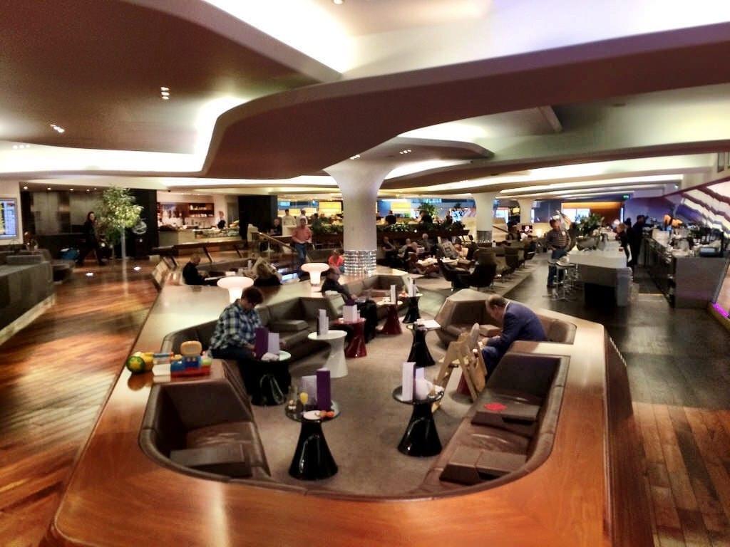 Virgina Atlantic Lounge