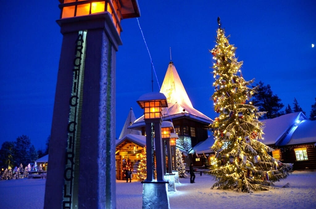 Santa Claus Village Rovaniemi Finland