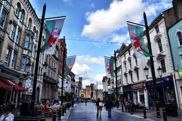 Cardiff Wales UK