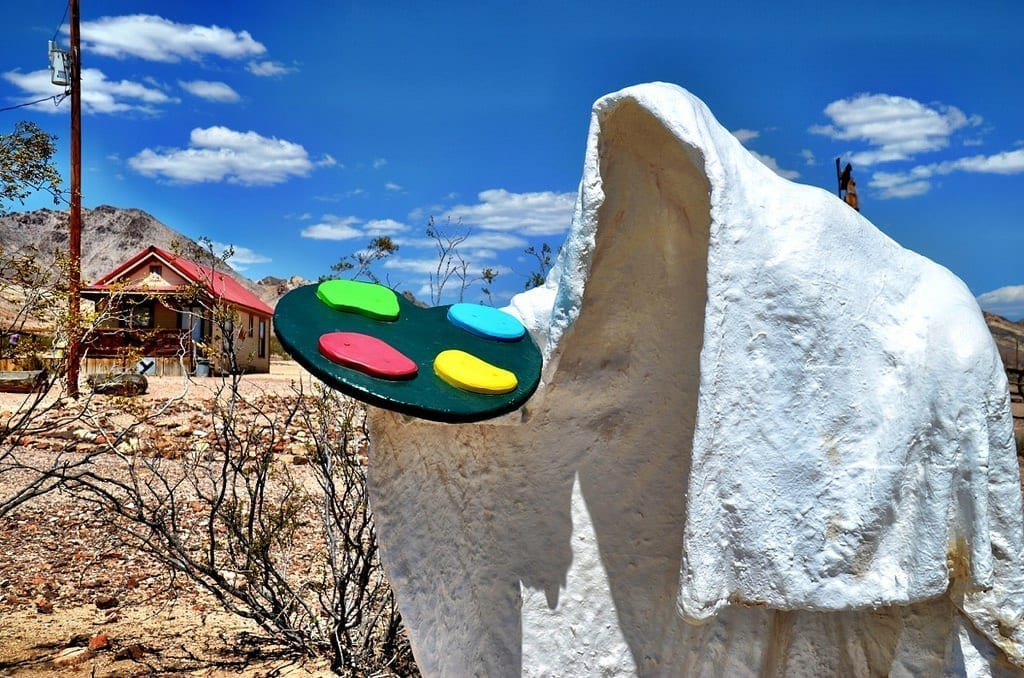 Goldwell Open Air Museum in Nevada