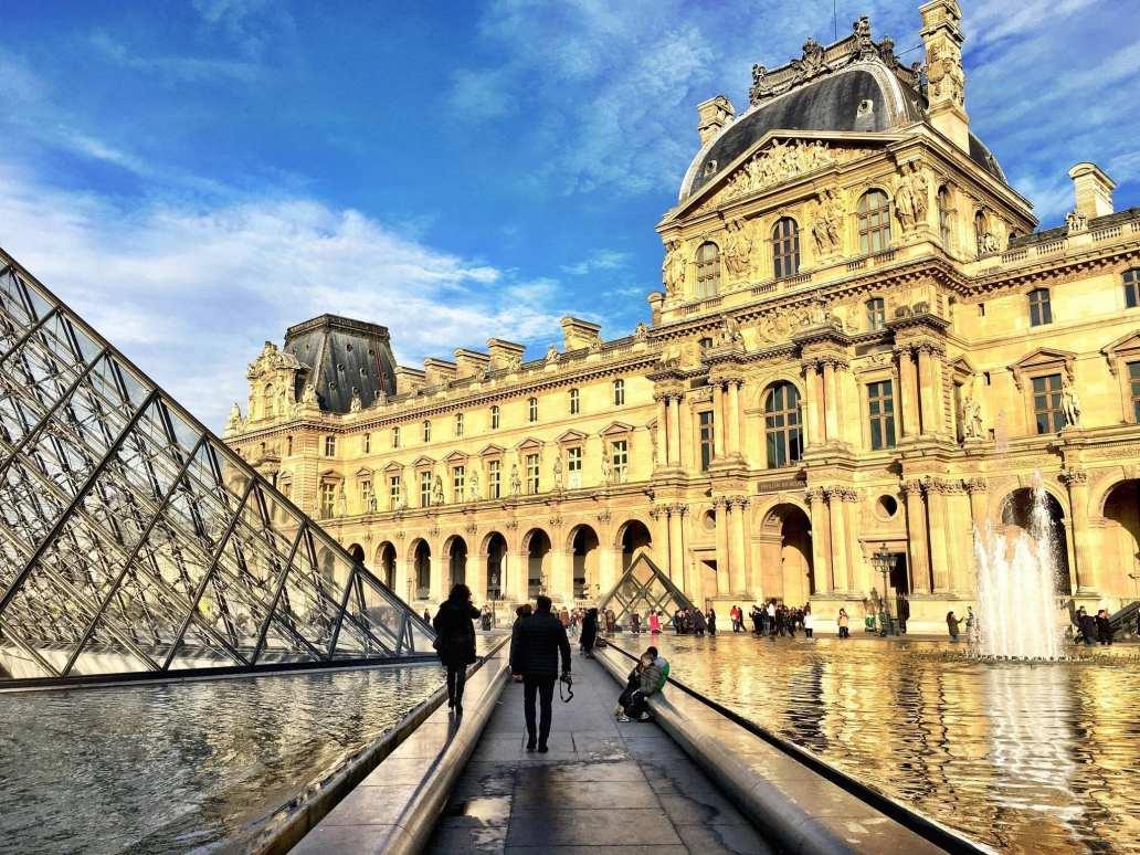 Louvre paris france