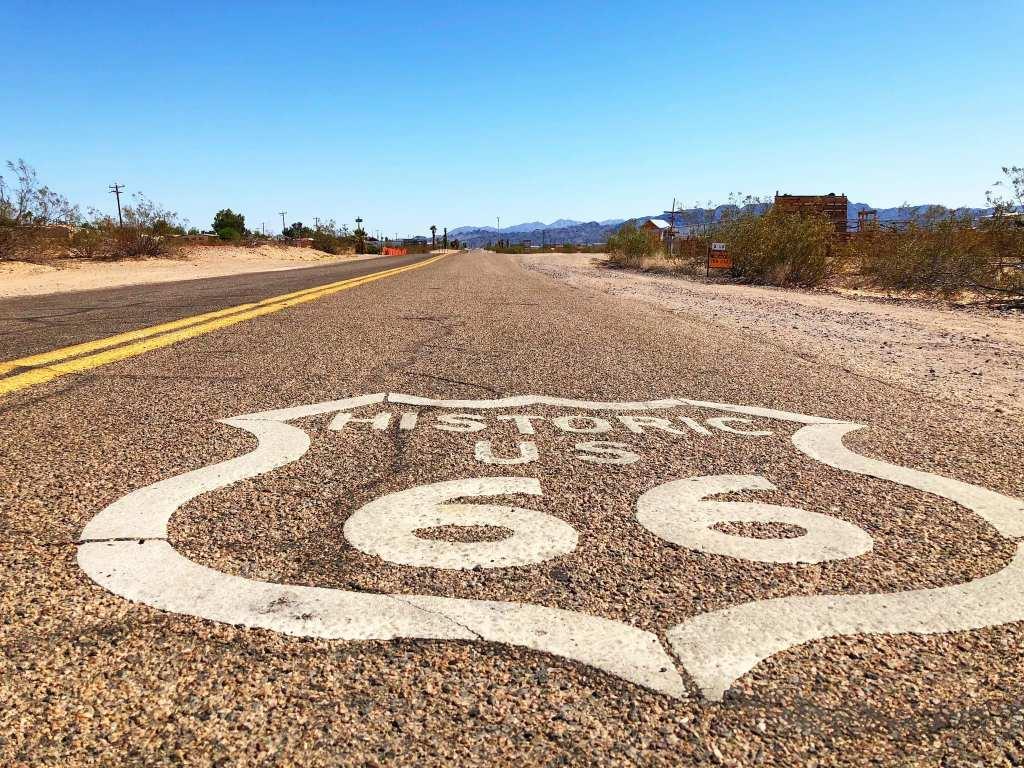 Route 66 Amboy Californie