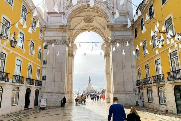 Square Lisbon Portugal