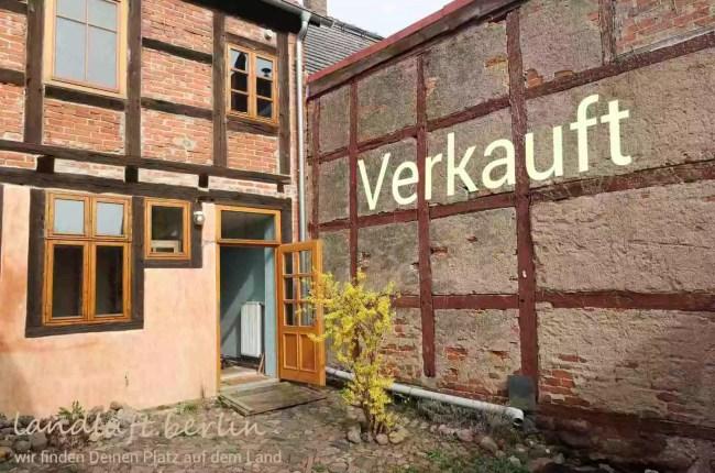 Sonniges saniertes Fachwerkhaus in uckermärkischem Landstädtchen